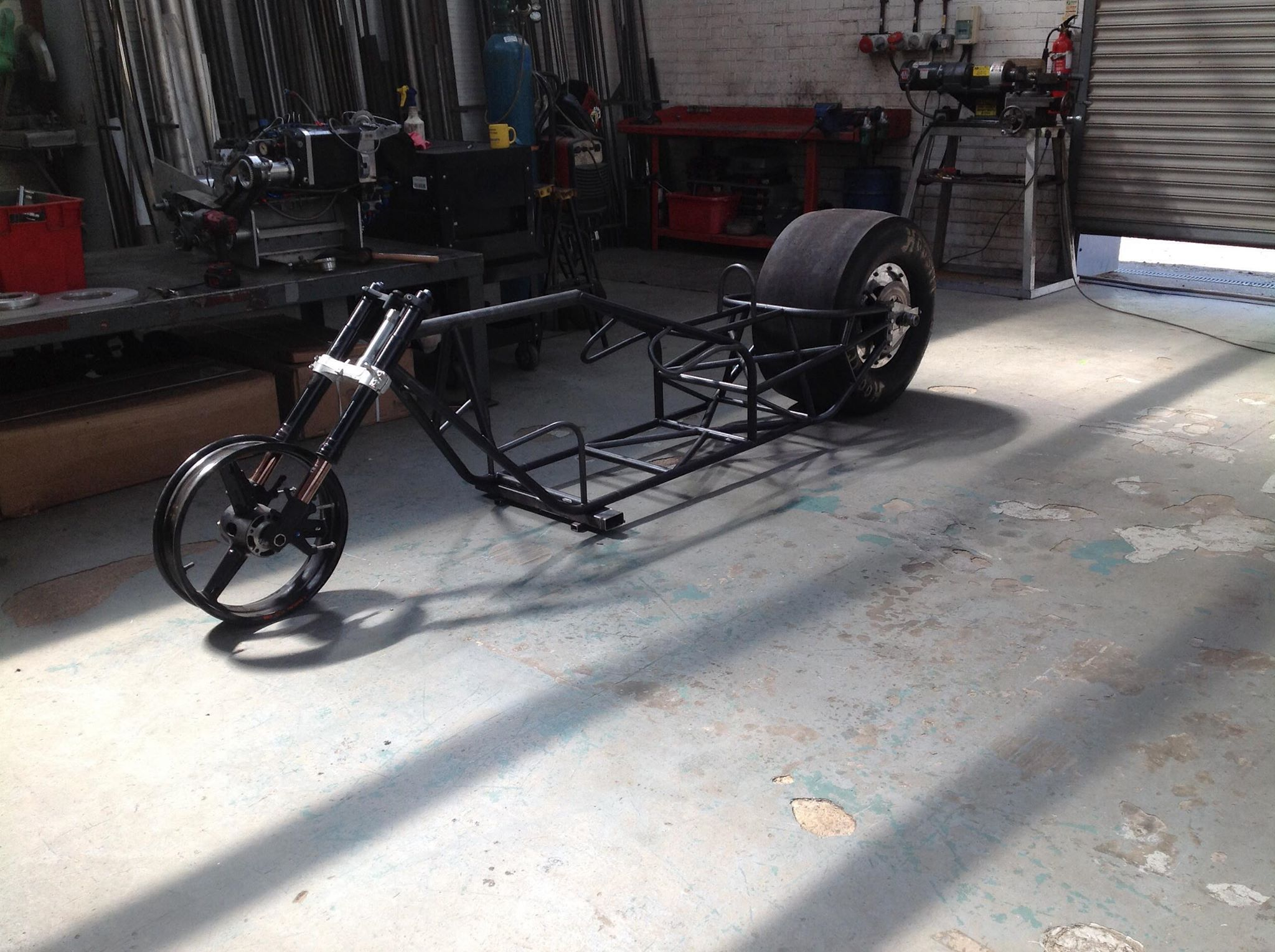 Fuel Bike Build Update – Moving On Fast
