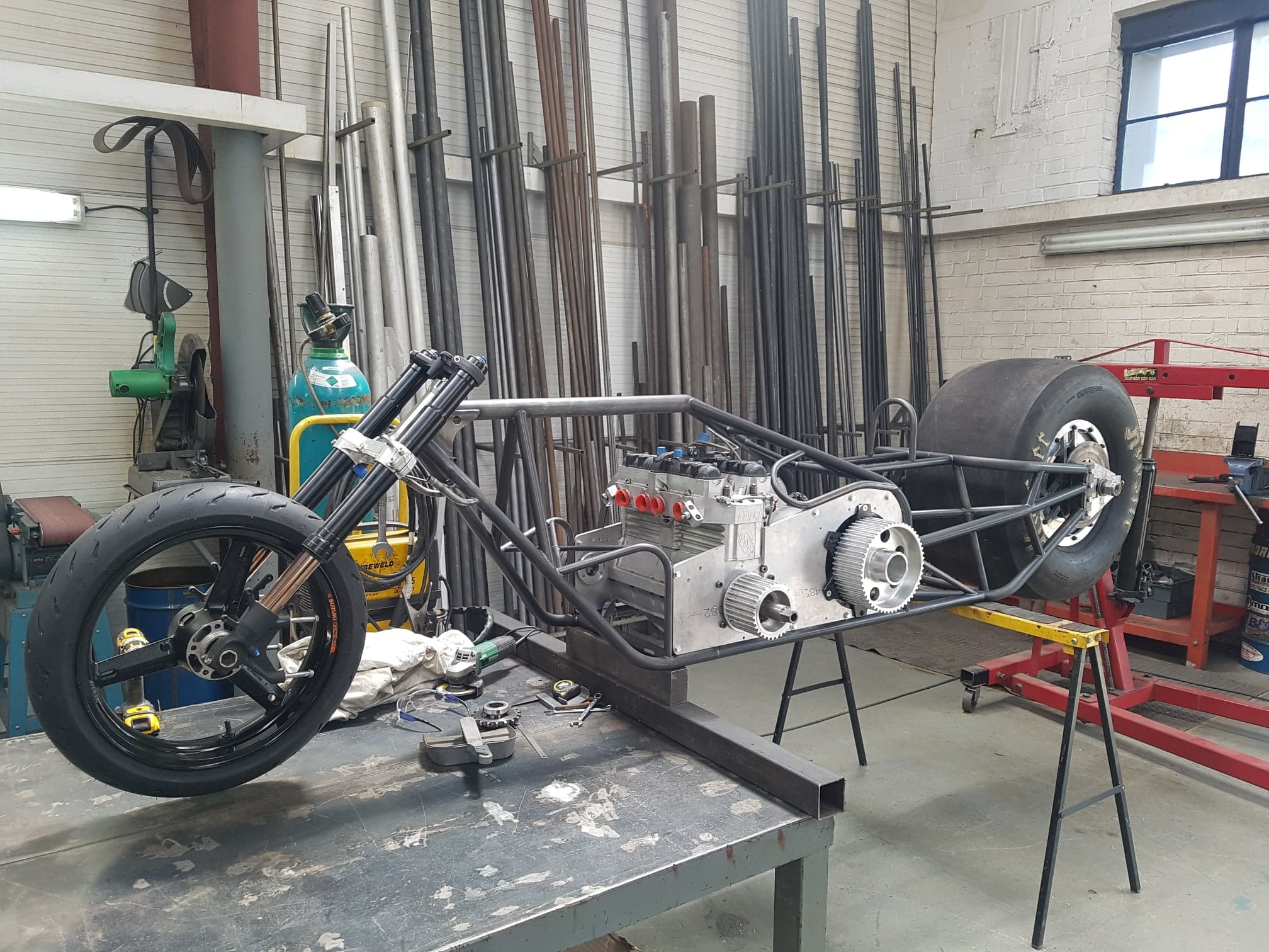 Top Fuel Bike Update – Moving Along Nicely