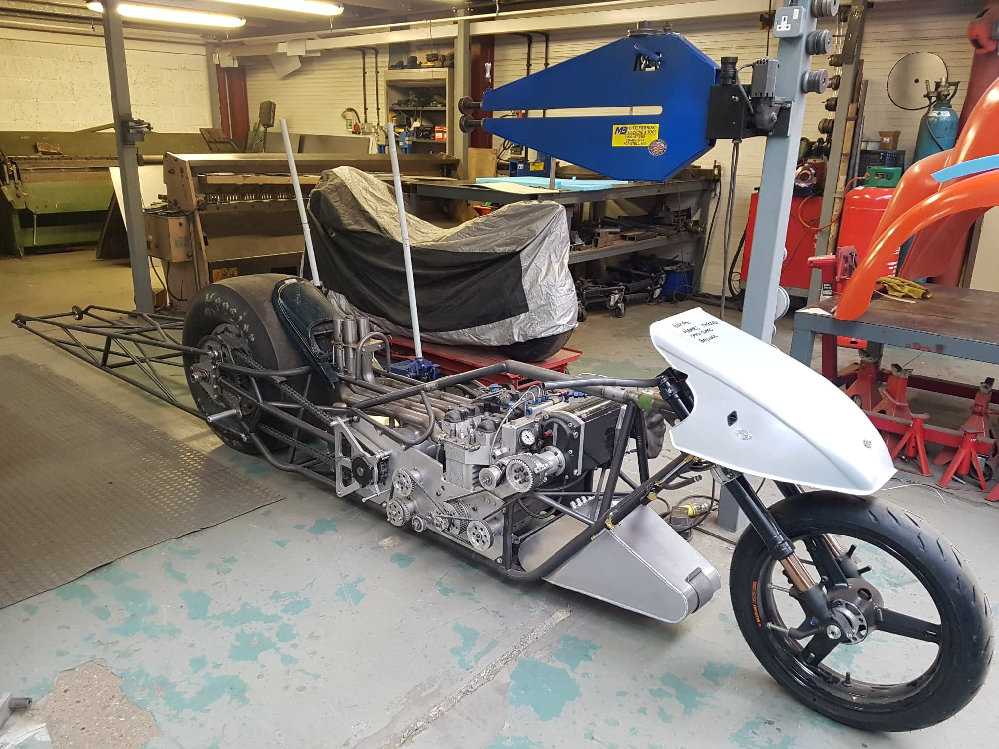 Top Fuel Bike Progress – March 2020